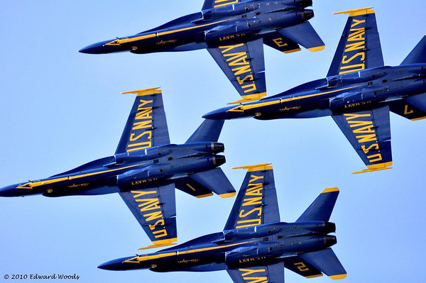 Blue Angels Fleet Week 2010